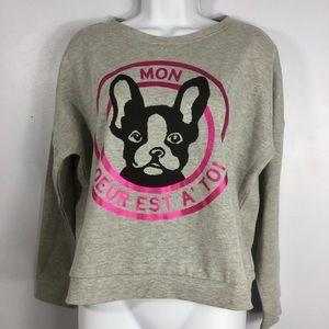 Bongo NWT French Bulldog/Frenchie Sweatshirt